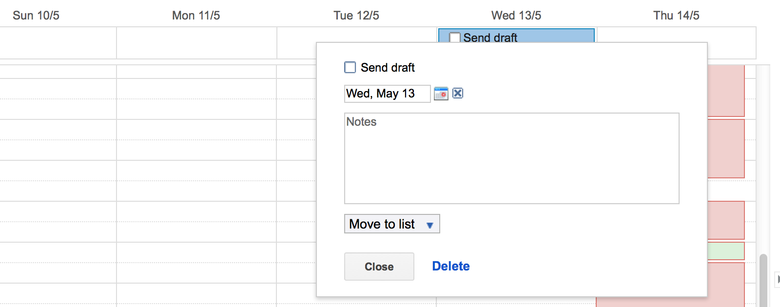 Add TODOs to Google Calendar events